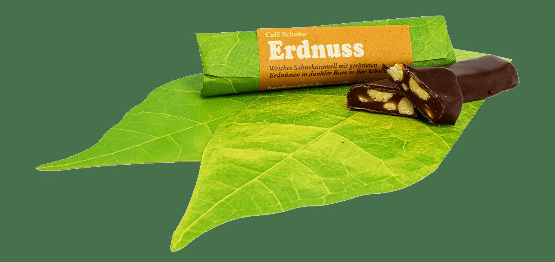 Schokoriegel Erdnuss in Sahnekaramell