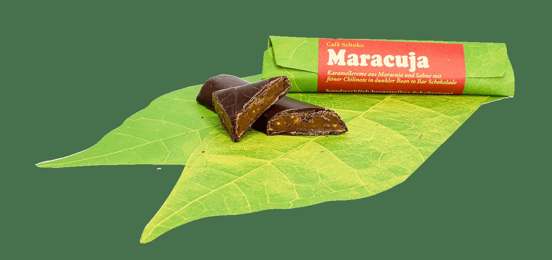 Schokoriegel Maracuja & Chili